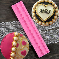 Chain Silicone Mould Sugarcraft  Fondant Cake Chocolate Candy Decorating Tool
