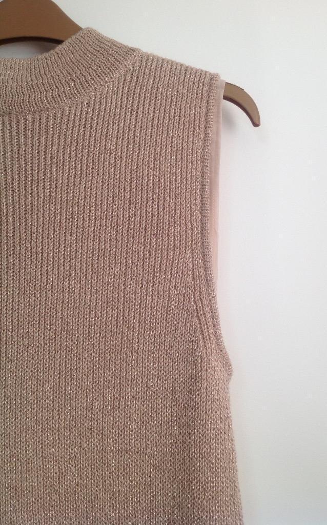 Coast - Rosa Sleeveless Knit Knit Knit Top - Blaush (Brand New with Tag) - Größe L | Bekannt für seine schöne Qualität  | Neuartiges Design  | Der Schatz des Kindes, unser Glück  | Angenehmes Gefühl  | Günstige  6669b4