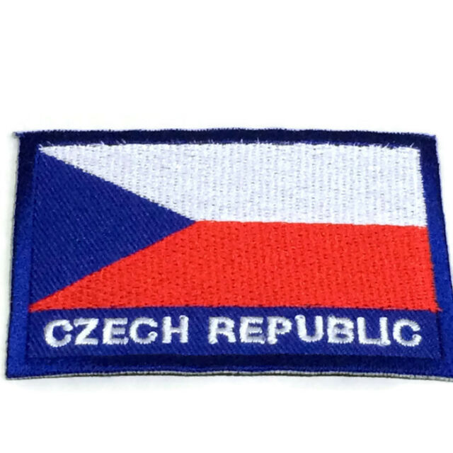 Nation Flag Emblem Iron On Patch Embroidered Applique National Country Sew Trim