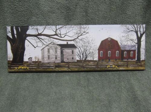 Spring Morning American Barn House Tree Farm Home Decor Canvas Billy Jacobs USA