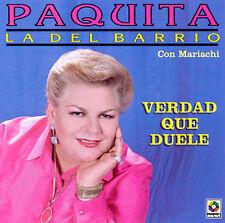 Paquita La Del Barrio Verdad Que Duele CD