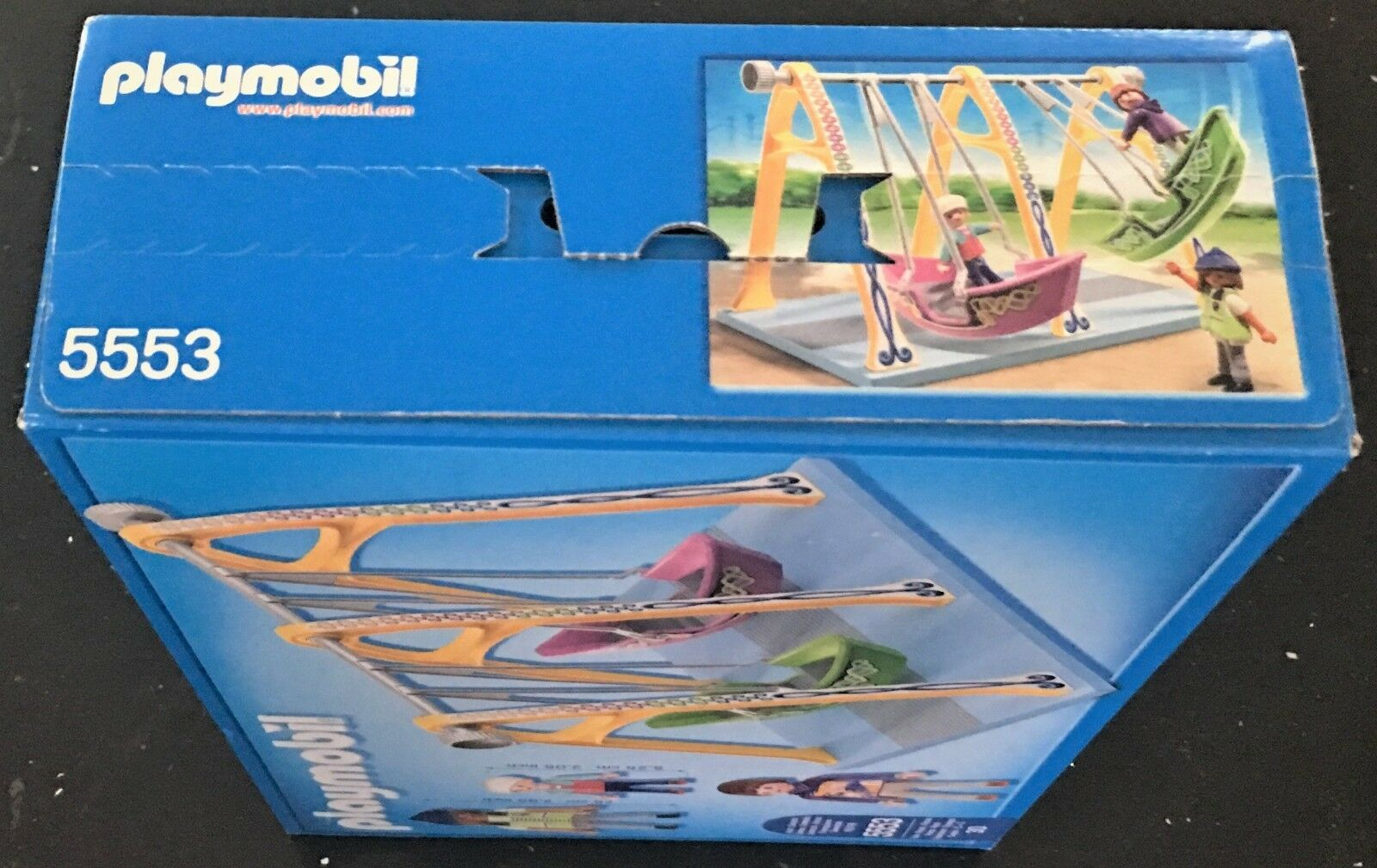 Playmobil 5553 Boat Swings Swings Swings Ride Play Set Ages 4+ New Toy Play Gift Girls Boys 74a4f1