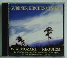 CD Gubener Kirchenmusik II Mozart Requiem Kantorei Guben Vorrath Song Vision 96