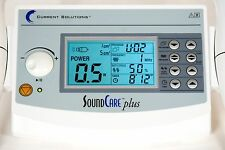 Current Solutions SoundCare Plus Professional Ultrasound w 1 cm & 5 cm Soundhead