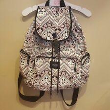 PINK Victoria's Secret Geometric Tribal print Mini Backpack