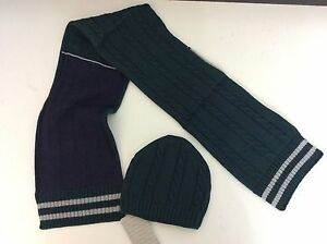 1e1b77ed MAYORAL hat & Scarf, Bottle Green, Grey, Blue, NEW warm Winter, Age ...