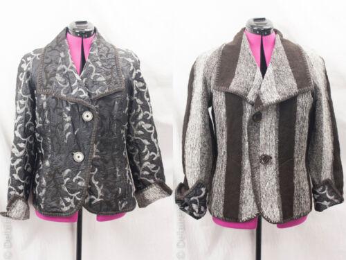 kunst Sz Reversible Jacket bære at Hollis Euc Hilton 14 Crinkle Designer til Quirky qOwExTgU