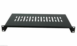 4-Pack-Cantilever-Server-Shelf-Vented-Shelves-Rack-Mount-19-034-1U-12-034-300mm-Deep