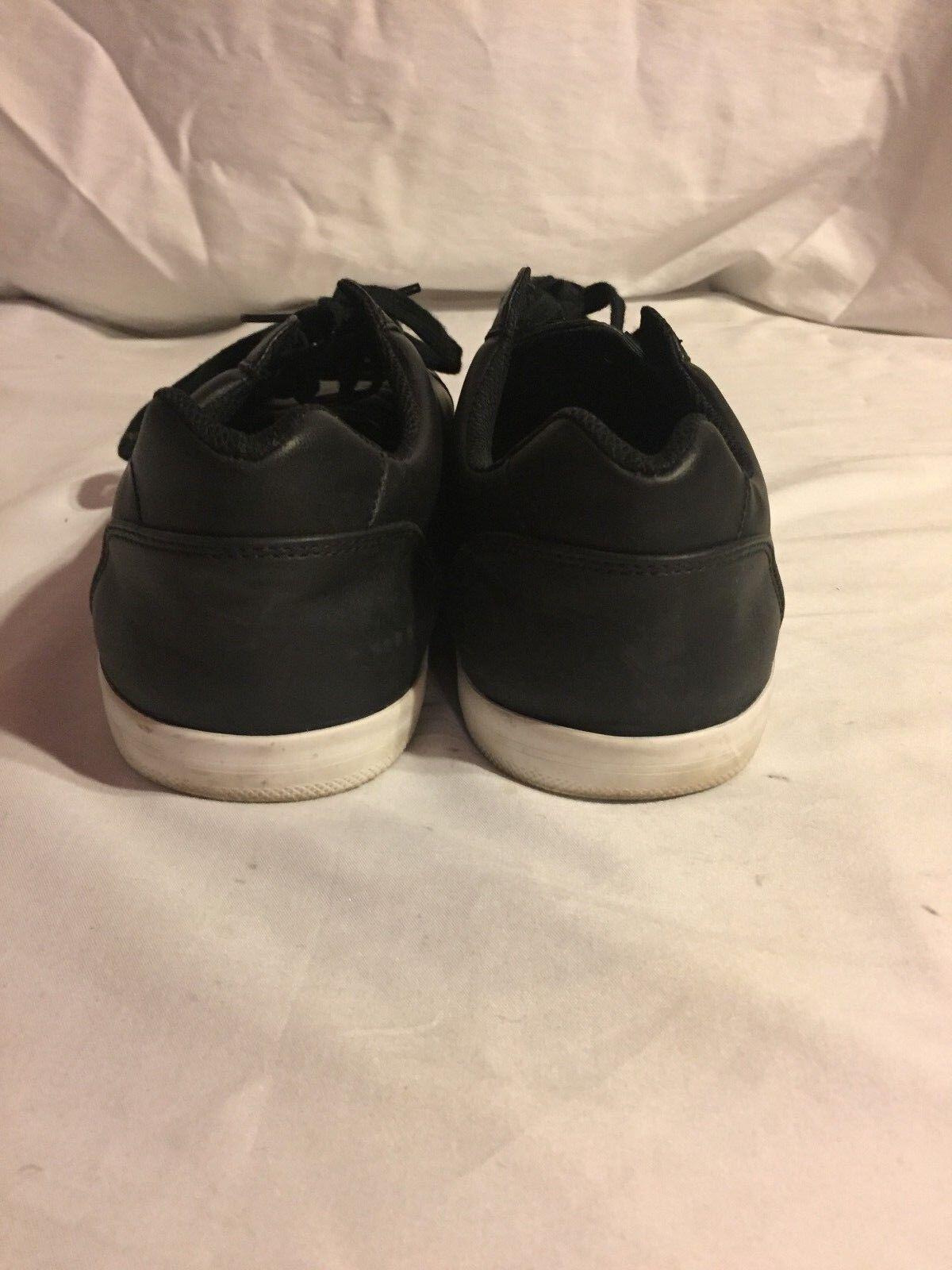 pretty nice e2bcc 3cd81 ... Uomo goodiellow   co di pelle nera, bianca, suole 13 di le scarpe di ...