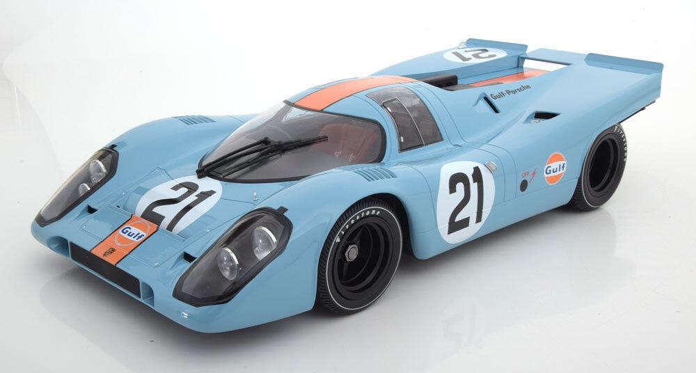 MINICHAMPS PORSCHE 917K GULF 24 H Le Mans 1970 Rodriguez Kinnunen  21 1 12 LE200