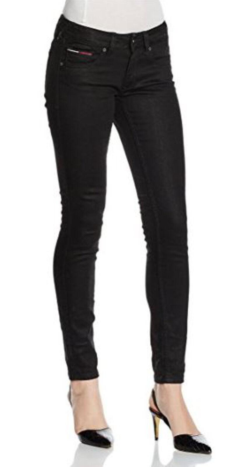 Hilfiger Denim women's coated skinny leg, mid rise jeans size W25xL32