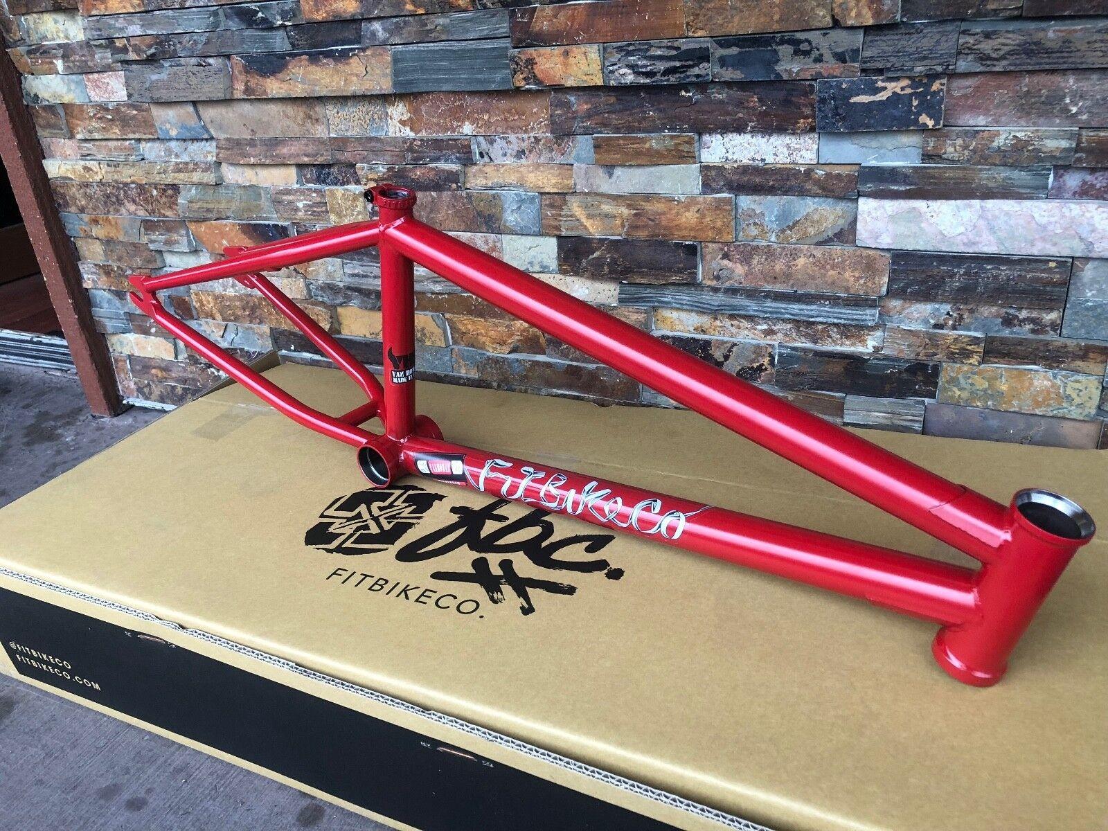 Ajuste las bicicletas van Homan Pequeño Diablo Rojo 20.75 Marco 20.75  Bicicleta Bmx firma Vh