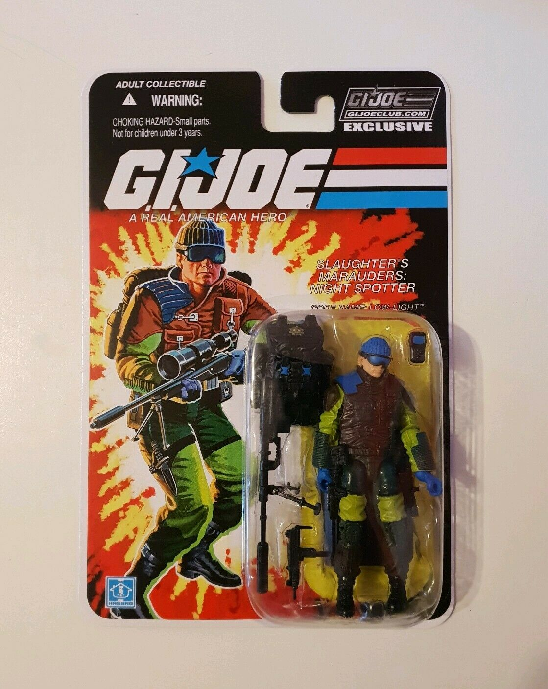 GI JOE FSS COLLECTORS CLUB CLUB CLUB EXCLUSIVE  FINAL 12 SSM LOW-LIGHT 2019 7dcb33