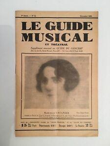 Le-Guide-du-Musical-supplement-mensuel-au-Guide-du-concert-Marcelle-Gavanier1928
