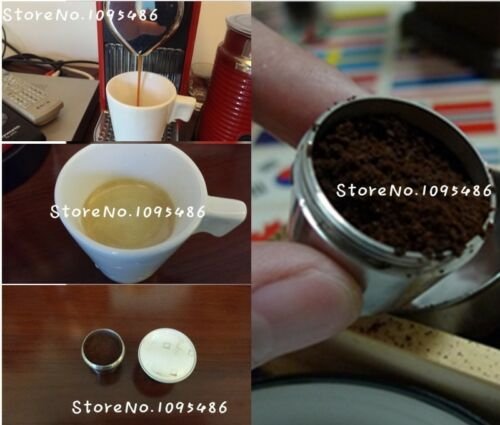Nespresso Nestle coffee can be filled with stainless steel coffee capsules