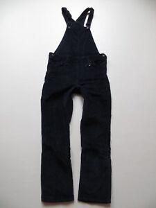 Levi-039-s-Cord-Latz-Jeans-Hose-Gr-XS-blau-TOP-Latzhose-girls-LINE-8-Cordhose