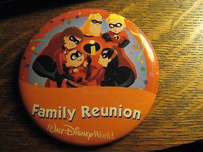 Walt Disney World Orlando Florida USA The Incredibles Family Reunion Lapel Pin