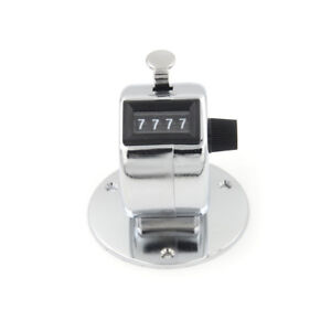 4-Digit-Manual-Hand-Tally-Mechanical-Palm-Click-Counter-Round-Base-HO