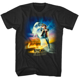 0edf8b3aa Back to the Future Movie Poster Marty McFly Men's T Shirt Watch ...