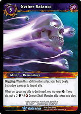 WOW WARCRAFT TCG THRONE OF TIDES : NETHER BALANCE X 3