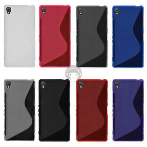 S-Line-Matte-Soft-Gel-TPU-Silicon-Case-Cover-Skin-For-Sony-Xperia-Z3-D6603-D6633