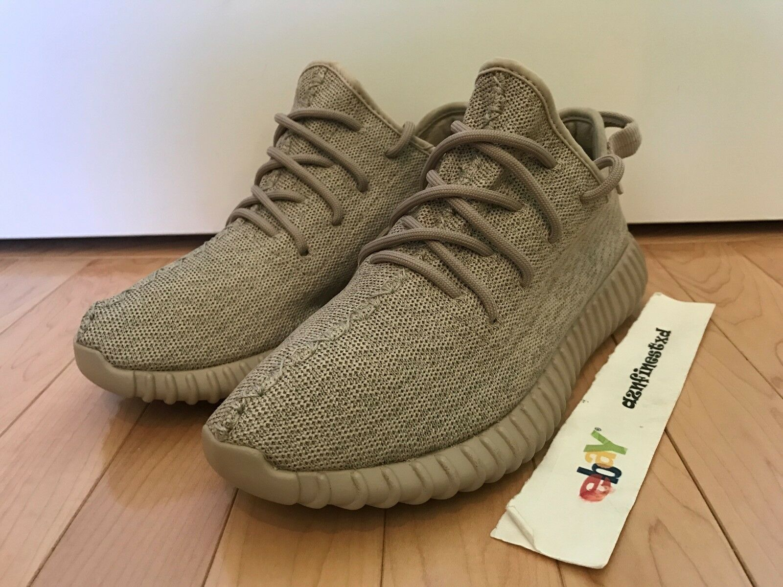 Adidas Yeezy Boost 350 Oxford Tan Used Sz 7.5 AQ2661