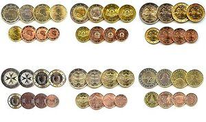 : 1 cent 8 coins Slovakia euro full set 2 euro 2009 UNC