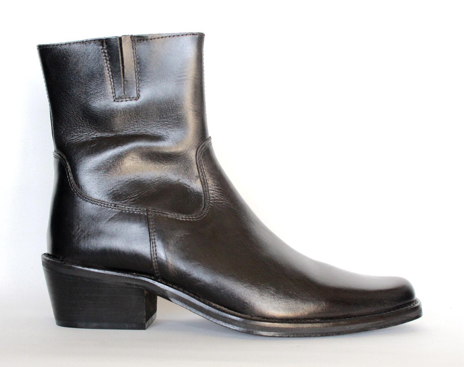 Elegante stivali scarpe invernali TG 40 37 38 39 40 TG 41 nero stivali autunno primavera 914493