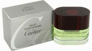 Cartier 7oz50ml sealed 1 Details Must Pour De About ❤️ spray Homme 7f6ybYg