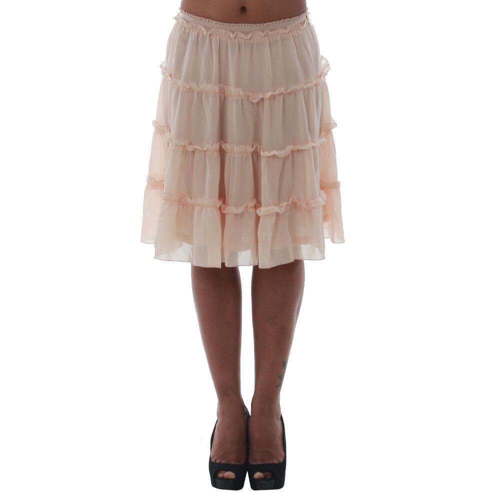 Fornarina women Falda mini orange 10278