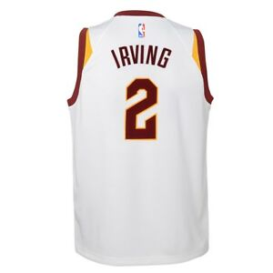 Image is loading Kyrie-Irving-Cleveland-Cavaliers-Nike-White-Association- Swingman- 4334ed3c7
