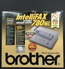 Brother Intellifax 780 Mc Fax Machine White New In Open Box