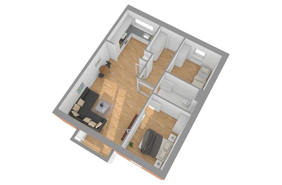 8620 vær. 3 lejlighed, m2 87, Tværgade