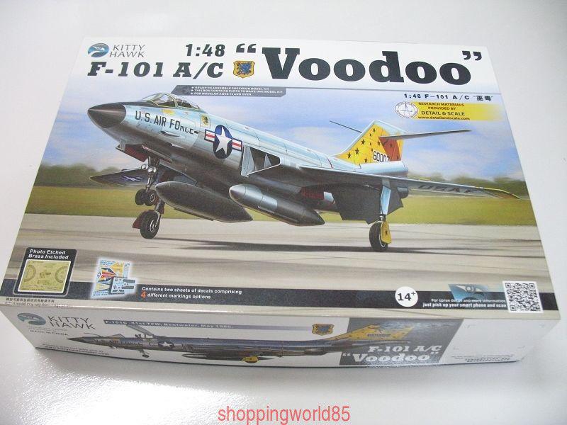 Kitty Hawk 80115 1 48 F-101 A C Voodoo New
