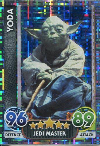 Star Wars Force Attax Force Awakens Set 1 #198 Yoda