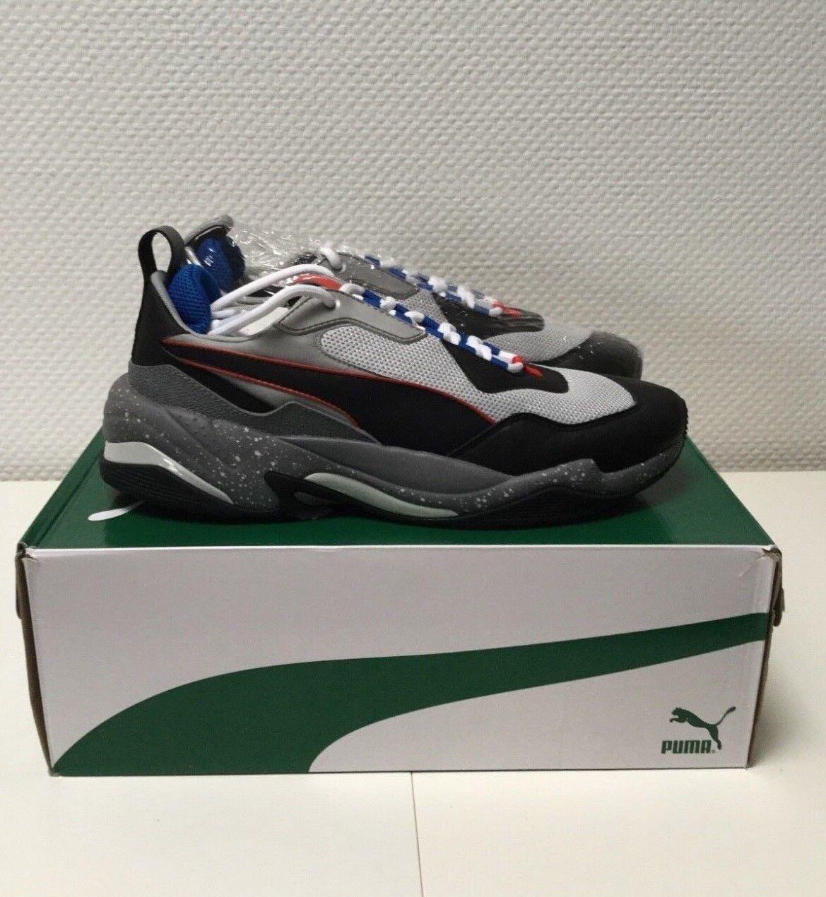 Puma Thunder Electric grau/schwarz/blau, Art. 367996-02, Herren Sneaker, NEU -DS