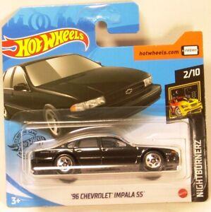 Hot wheels /'96 Chevrolet Impala SS Nightburnerz 2//10 2020 232//250 GHB74-D521