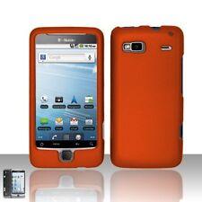 Hard Rubberized Case for HTC T-Mobile G2 - Orange