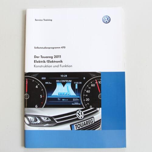 SSP 470 VW Selbststudienprogramm der Touareg II Elektrik Elektronik ab Bj 8//2010