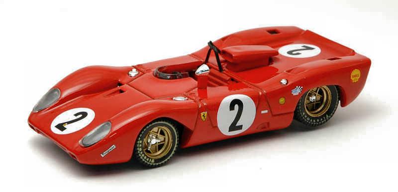 Ferrari 312 P Spyder    2 Accident Monza 1969 P. Rodriguez   P. Schetty 1 43 Model  | Hohe Sicherheit  92f7e9