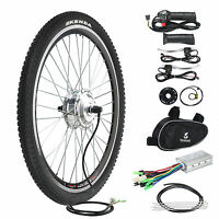 Electric Bicycle Conversion Kit E Bike 36v 250w Motor Speed 26 Front Wheel