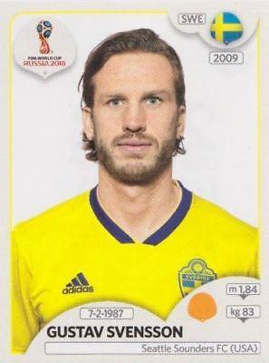 Schweden Panini WM 2018 World Cup Russia Viktor Claesson Sticker 485