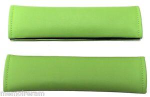 2 Fourreaux Protections De Ceinture Couleur Vert Clair Pour Voiture Auto Camion Hs4evqbq-07222913-384436126