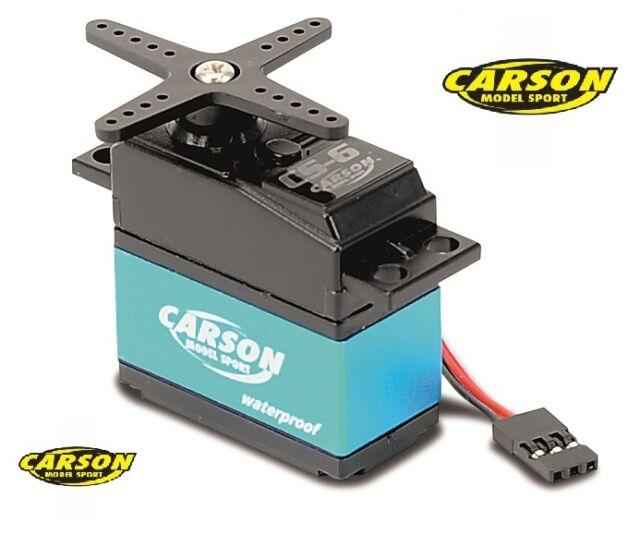 Carson Imperméable Servo CS-9 500502042 / JR Système enfichable, MG/9 Kg