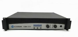 Crown-CDi-1000-Two-channel-500W-4-70V-140V-Power-Amplifier
