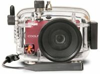 Ikelite Ultra Compact Housing For Nikon Coolpix S6000 Digital Camera on sale