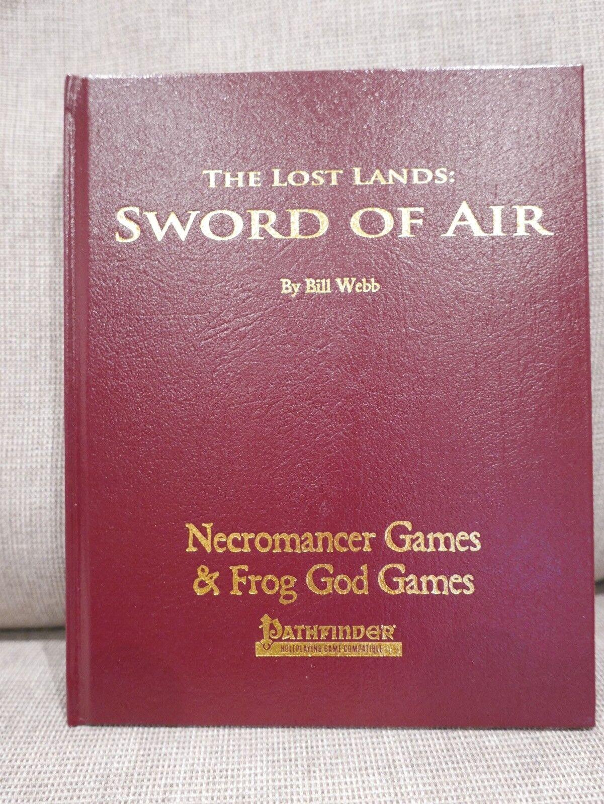 Lost Lands  Sword of Air Limited Edition Leather Frog God Games Pathfinder