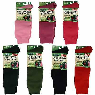 Ladies Wellington Boot Socks