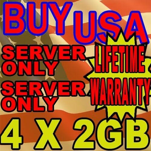 8GB 4X2GB KIT LENOVO IBM THINKSTATION D10 6493 6427 DDR2 667MHz RAM MEMORY