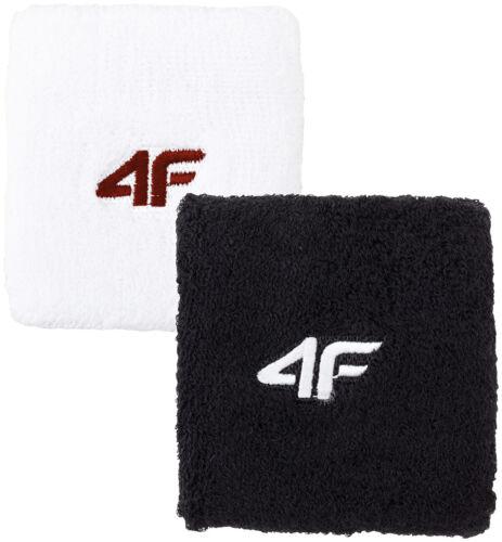 hive outdoor 4F Schweißband Wristband 2er Pack Handgelenkband weiß schwarz